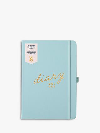 Busy B A5 17 Month Mid Year Academic Diary, 2021-22