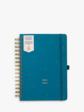 Busy B Planner 17 Month Mid Year Academic Diary, 2021-22
