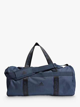 adidas 4ATHLTS Medium Duffel Bag, Crew Navy/Black
