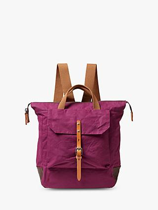 Ally Capellino Frances Waxed Cotton Backpack