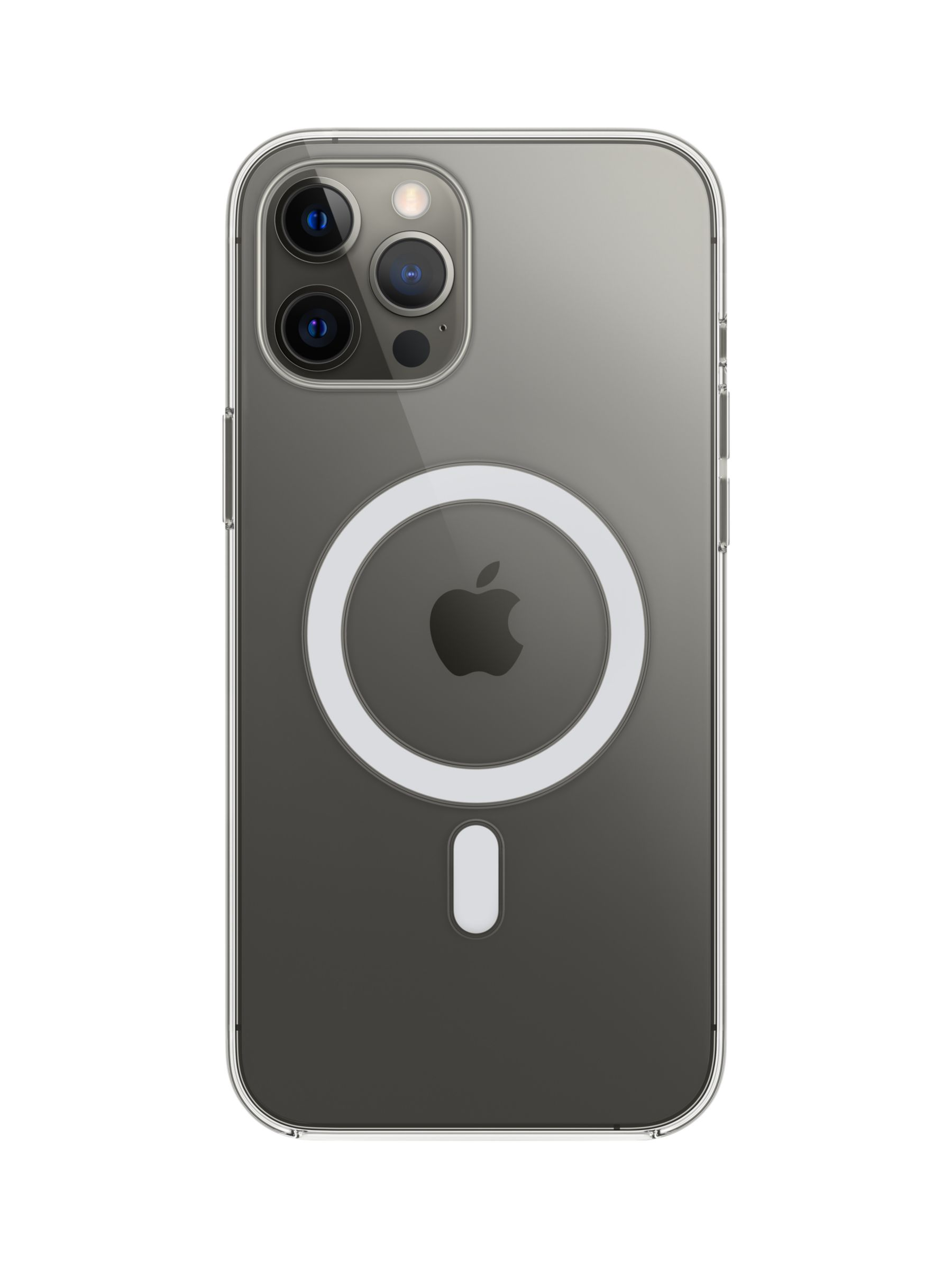 Apple Clear Case with MagSafe for iPhone 12 Pro Max (2020) at John Lewis &  Partners