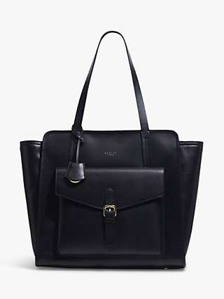 Radley Southwark Remastered Leather Tote Bag, Black
