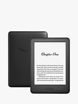 "Amazon Kindle eReader, 6"", Wi-Fi, with Built-in Front Light and Special Offers"