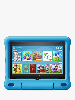 Amazon Fire 8 Kids Edition Tablet with Kid-Proof Case, Quad-core, Fire OS, Wi-Fi, 32GB, 8""