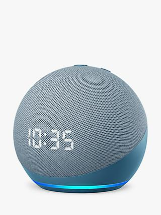 Amazon Echo Dot Smart Speaker with Clock and Alexa Voice Recognition & Control, 4th Generation