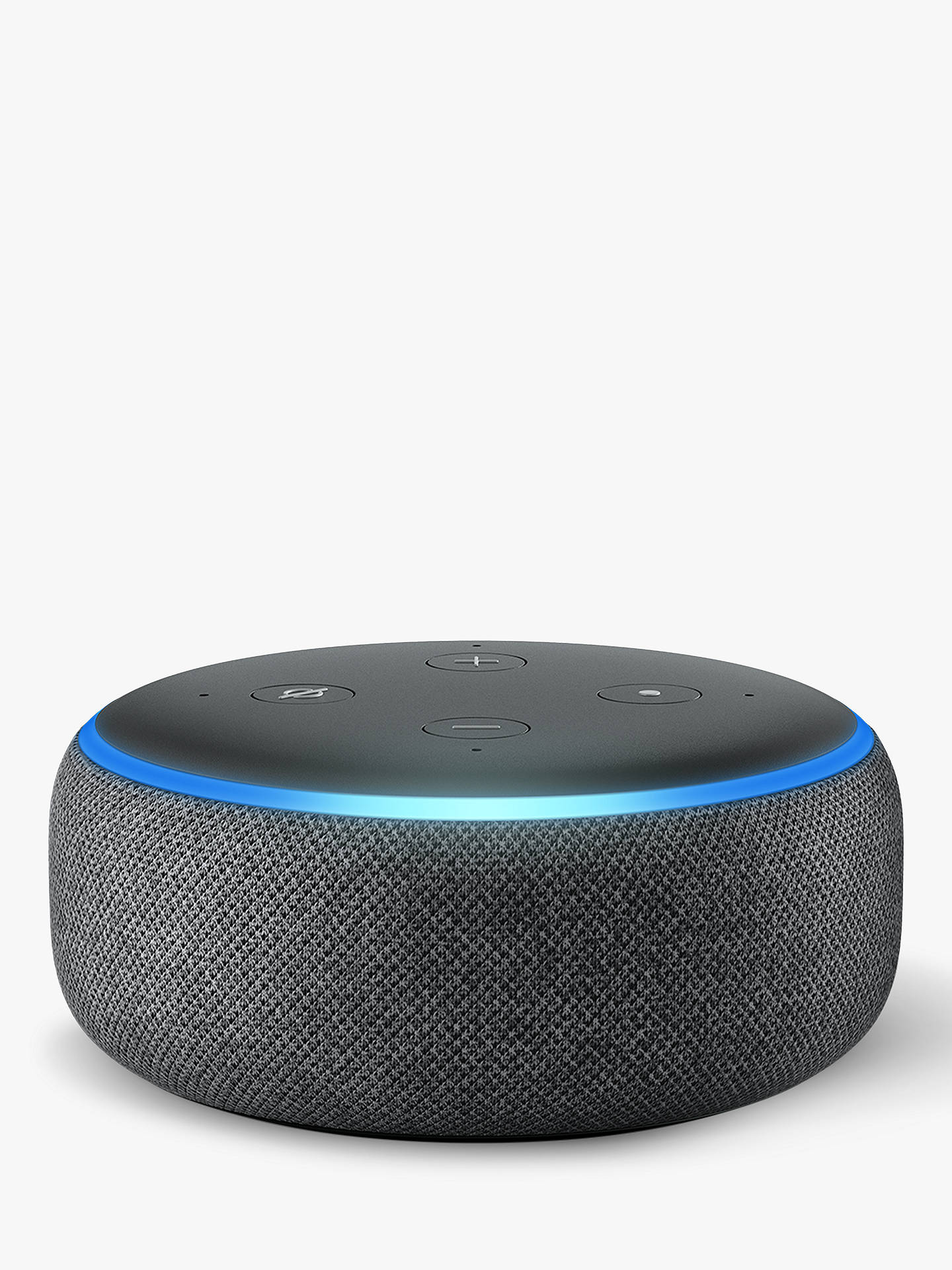 Buy Amazon Echo Dot Smart Device with Alexa Voice Recognition & Control, 3rd Generation, Charcoal Online at johnlewis.com