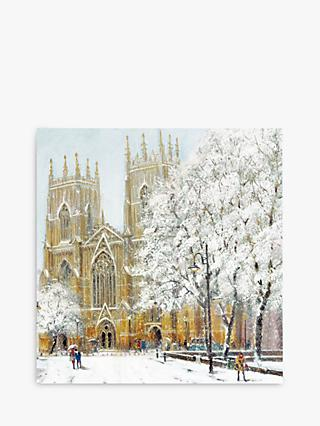 Woodmansterne York Cathedral Christmas Card