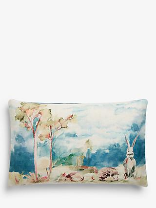 John Lewis & Partners Woodland Animals Cushion, Multi