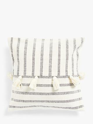 House by John Lewis Tassel Cushion