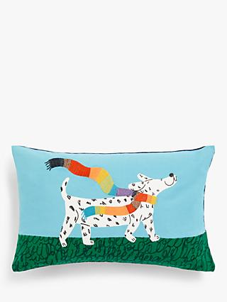 ANYDAY John Lewis & Partners Proud Dog Cushion, Multi