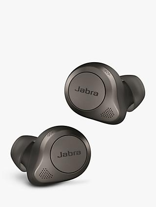 Jabra Elite 85t True Wireless Bluetooth Active Noise Cancelling In-Ear Headphones with Mic/Remote, Titanium Black