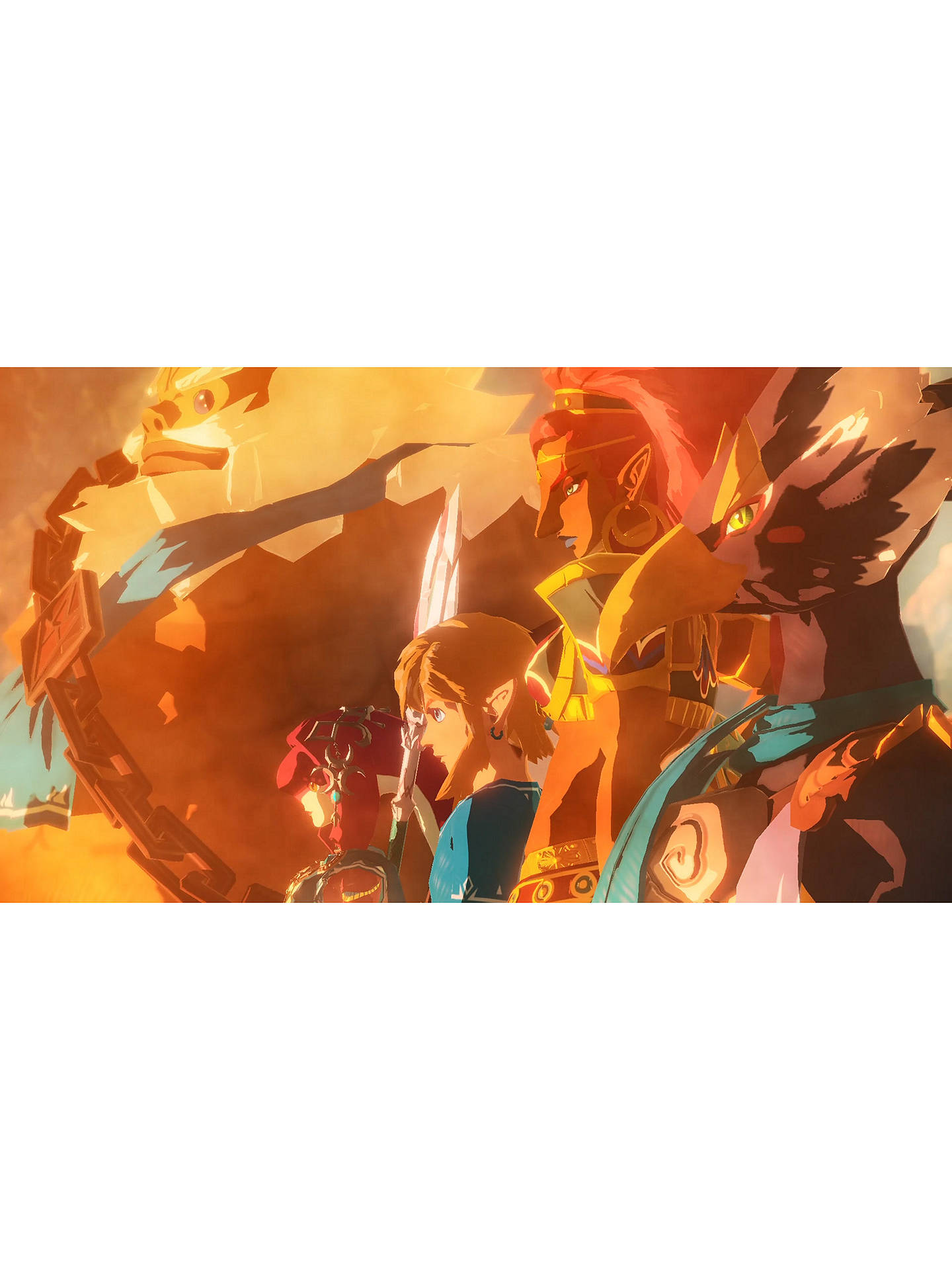 Hyrule Warriors Age Of Calamity Switch At John Lewis Partners