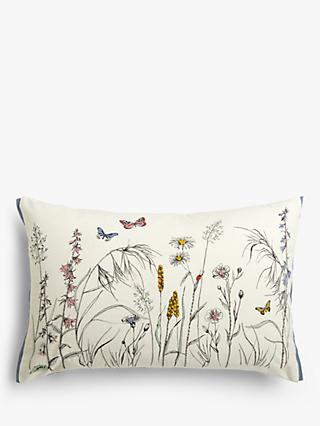 John Lewis & Partners Wistow Border Cushion, Multi