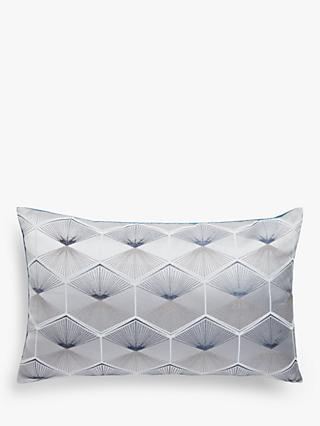 ANYDAY John Lewis & Partners Geo Embroidery Cushion