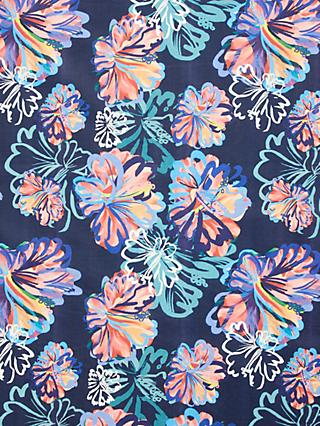 John Lewis & Partners Margot Floral Print Fabric, Blue