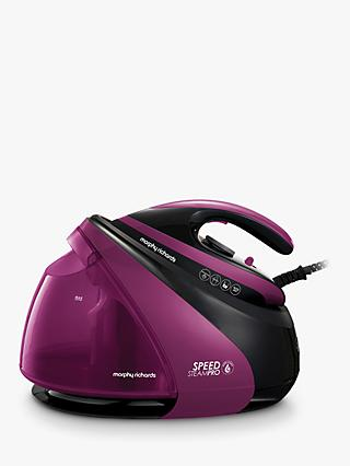 Morphy Richards 332102 Speed Pro Steam Generator Iron, Mulberry