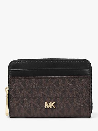 MICHAEL Michael Kors Leather Coin & Card Holder