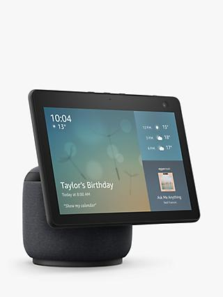 "Amazon Echo Show 10 Smart Speaker with 10.1"" Screen, Motion & Alexa Voice Recognition & Control, 3rd Generation"