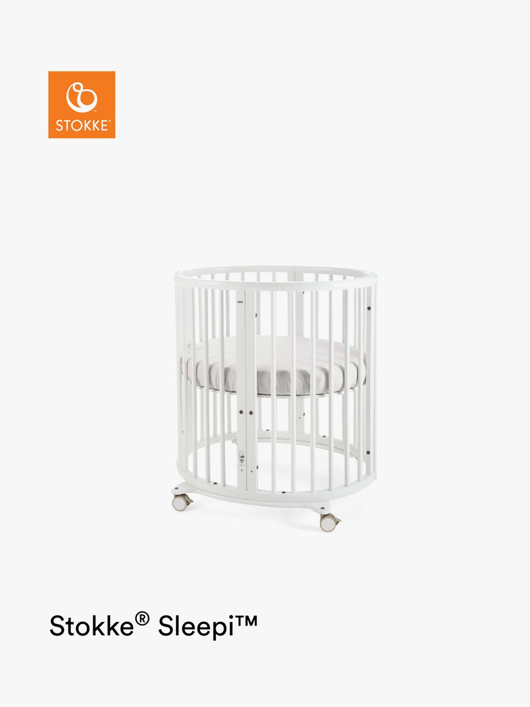 Stokke Sleepi Mini Oval Crib, White