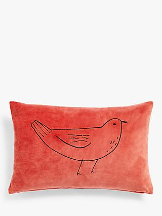 ANYDAY John Lewis & Partners Betty Bird Cushion