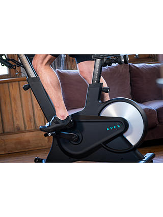 Buy Apex Rides Exercise Bike, Black Online at johnlewis.com