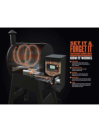 Traeger Timberline D2 850 WiFi Connected Wood Pellet BBQ, Black