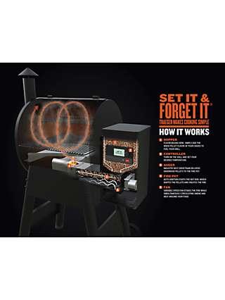 Traeger Pro D2 575 WiFi Connected Wood Pellet BBQ, Black