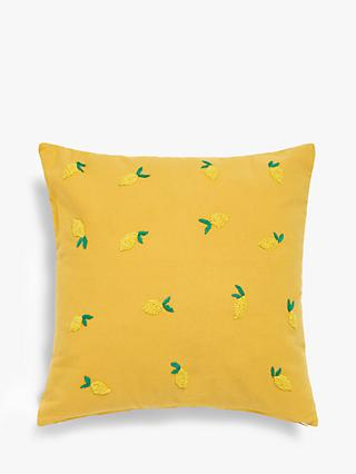 ANYDAY John Lewis & Partners Zesty Lemons Cushion