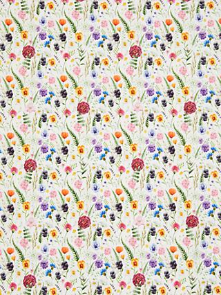 Oddies Textiles Wild Stems Print Fabric, Multi