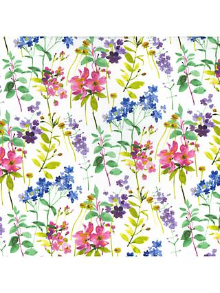 Oddies Textiles Pretty Stems Fabric, Multi