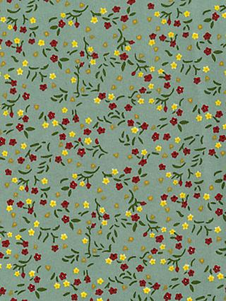 Oddies Textiles Layered Palm Leaf Print Fabric, Multi