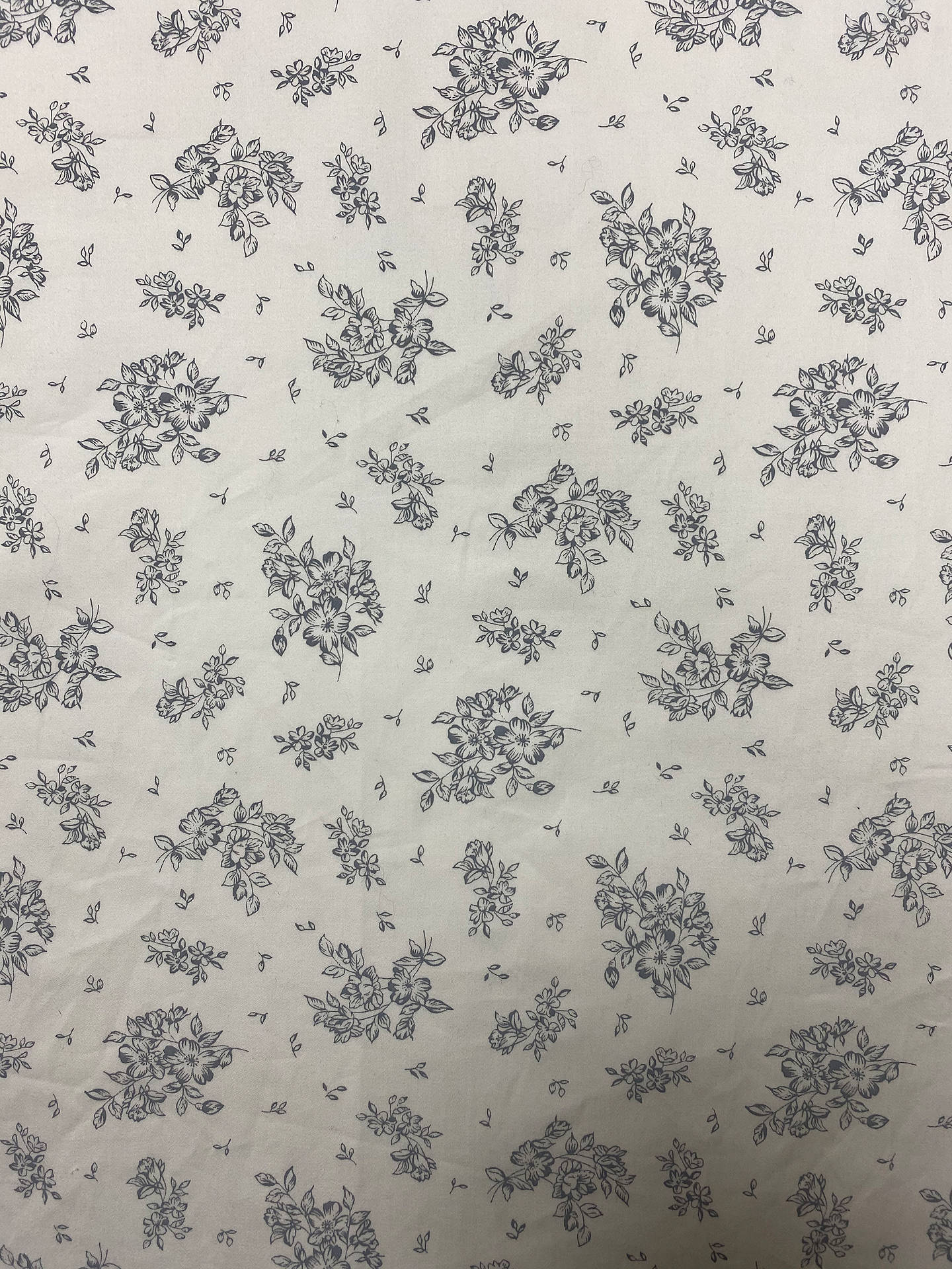 Buy Marvic Fabrics Floral Print Fabric, Ivory Online at johnlewis.com