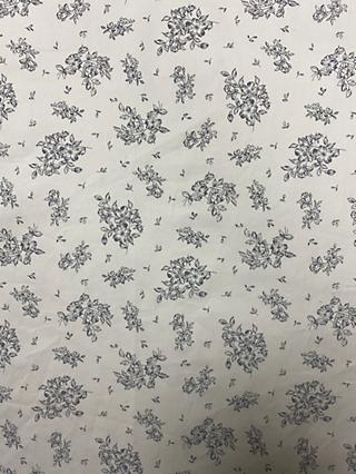 Marvic Fabrics Floral Print Fabric, Ivory