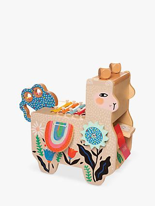 Manhattan Lili Llama Wooden Musical Toy