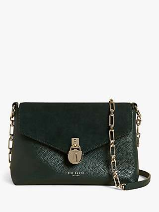 Ted Baker Miliaa Padlock Detail Leather Cross Body Bag