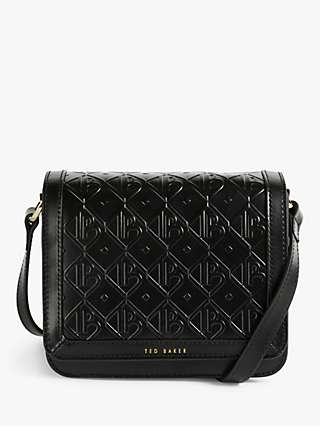 Ted Baker Melikka Embossed Leather Cross Body Bag