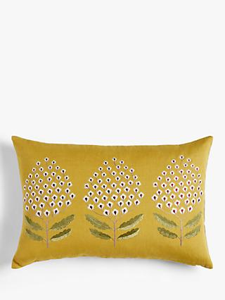 Sanderson Bellis Cushion, Woodland Yellow