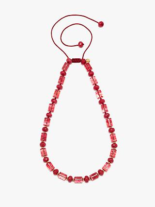 Lola Rose Catania Necklace, Red Rock Crystal/Red Quartzite