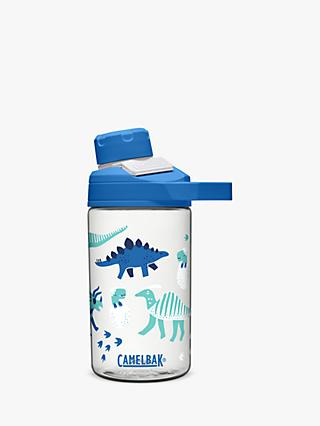 CamelBak Dinosaur Children's Chute Drinks Bottle, 400ml, Blue