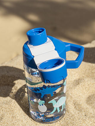 Buy CamelBak Dinosaur Children's Chute Drinks Bottle, 400ml, Blue Online at johnlewis.com