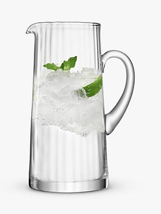 LSA International Aurelia Optic Glass Jug, 1.9L, Clear