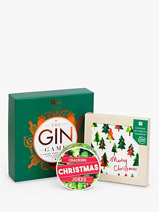 Talking Tables Christmas Gin Themed Gift Set