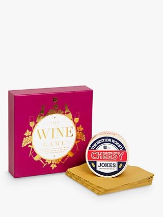 Talking Tables Cheese and Wine Lover Gift Set