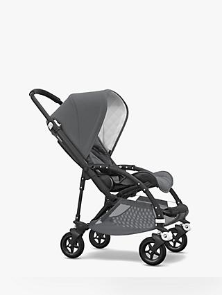 Bugaboo Bee 5 Classic+ Pushchair, Grey Melange