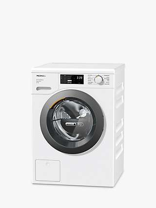 Miele WTD165 Freestanding Washer Dryer, 8kg/5kg Load, 1500rpm Spin, White