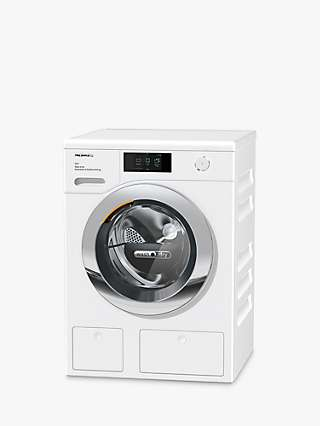 Miele WTR860 Freestanding Washer Dryer, 8kg/5kg Load, 1600rpm Spin, White