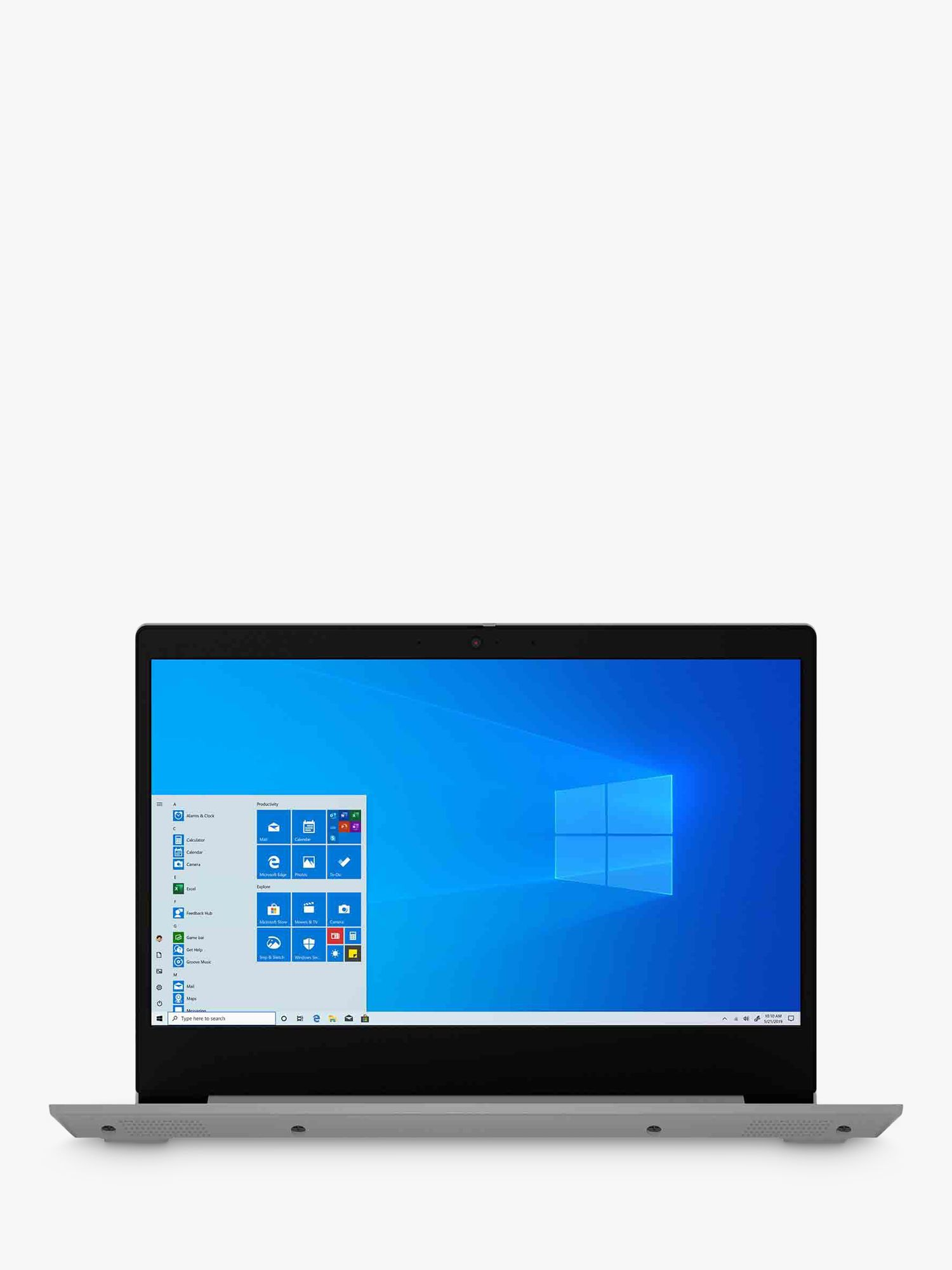 Lenovo IdeaPad 3 81W000BTUK Laptop, AMD Ryzen 7 Processor, 8GB RAM, 512GB SSD, 14 Full HD Grey