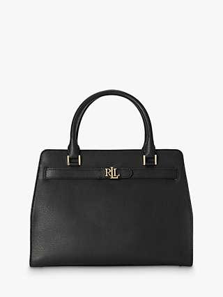Lauren Ralph Lauren Fenwick 32 Leather Satchel Bag