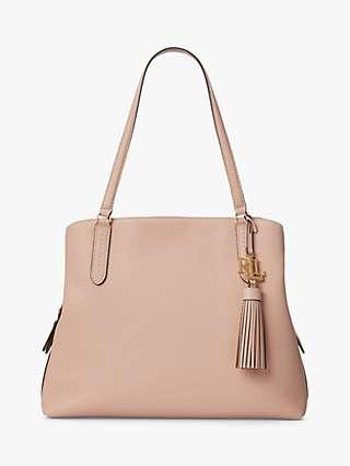 Lauren Ralph Lauren Quinn Leather Shoulder Bag