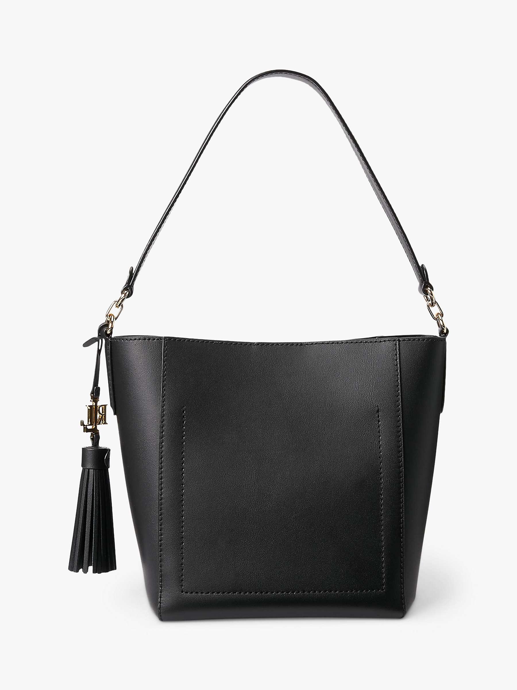 Lauren Ralph Lauren Adley 19 Shoulder Bag, Black at John